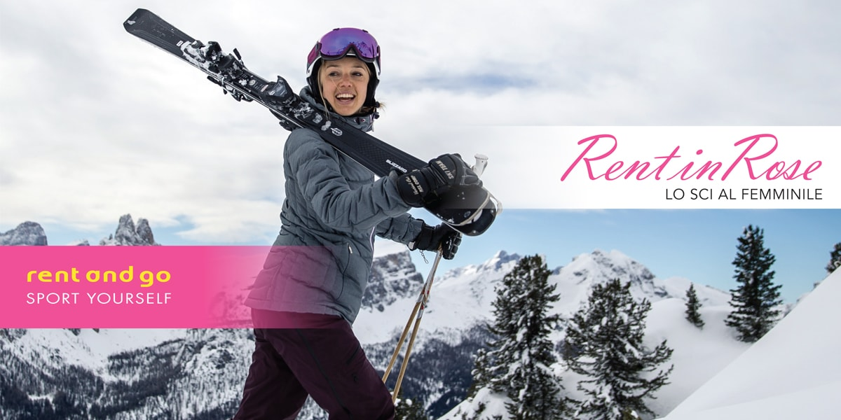 Ski equipment for ladies