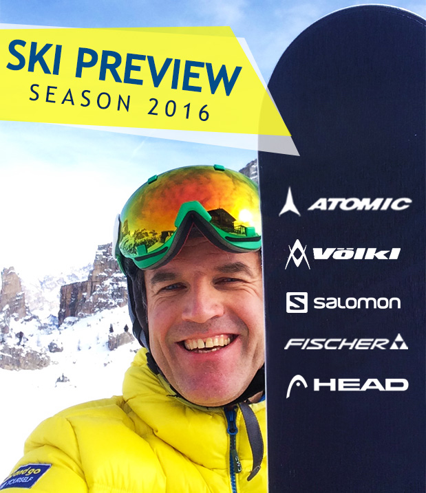 Ski Preview, new models for Winter 2016