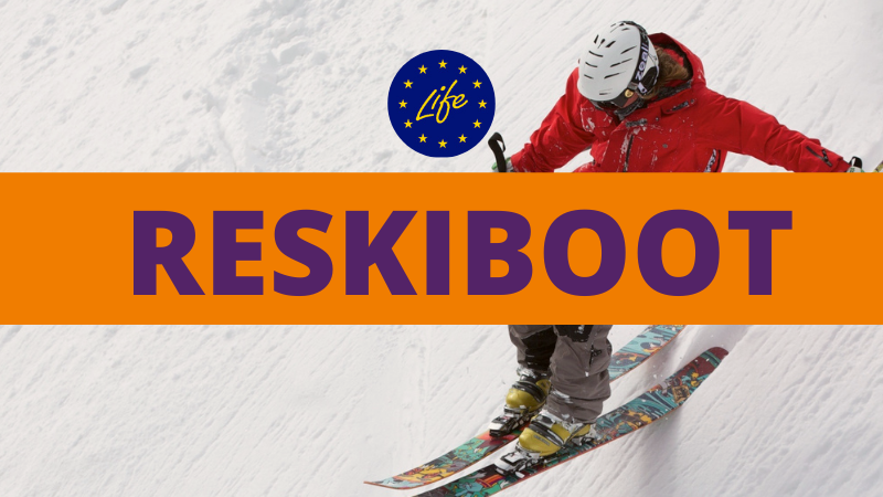 Reskiboot, a new life for ski boots, recycle ski boots