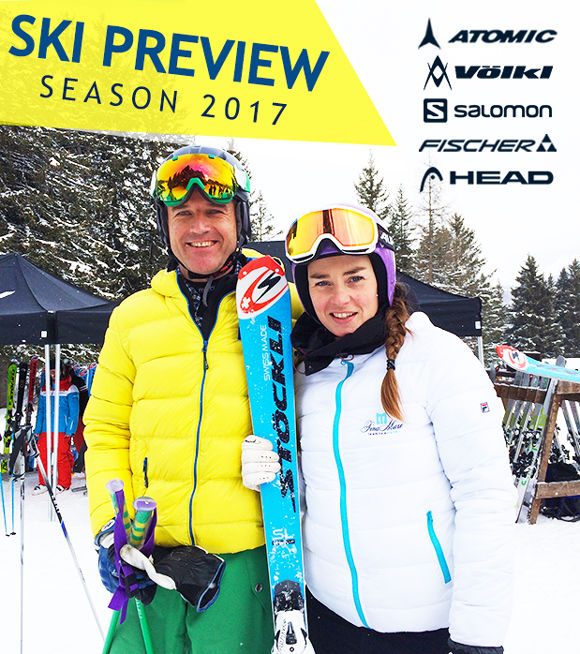 SKI PREVIEW, NEW MODELS FOR WINTER 2017