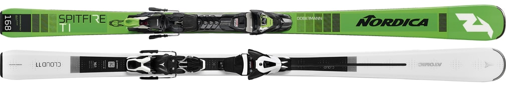 Ski Top leihen- Nordica Dobermann Spitfire TI, Atomic Cloud 11