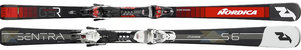 Ski Platinum for hire - Nordica Dobermann GSR, Nordica Sentra S6